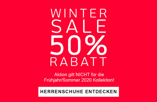 Winter Sale Herren -50%