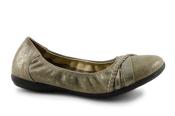 Janine Cow Suede grey B-Ware