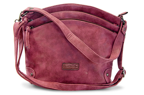 Handtasche Brest Synthetics bordo
