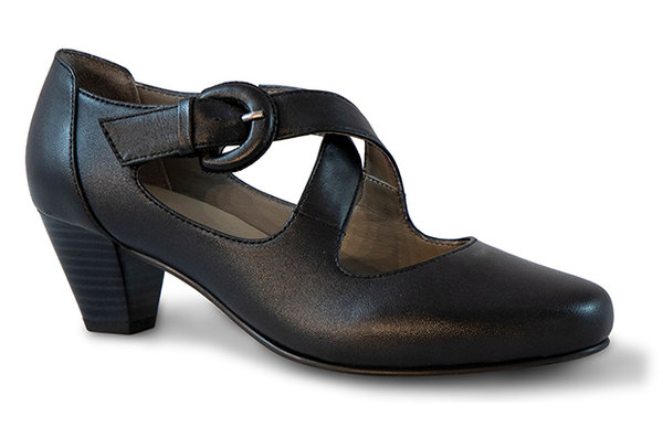 Jenna Sheep Leather black