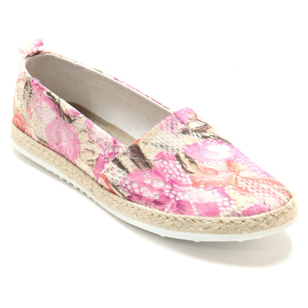Marc Shoes Damen Schuhe Emily Textil-Flower combi