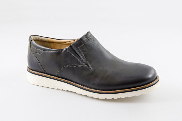 London Mara Soft Ox milled dark grey