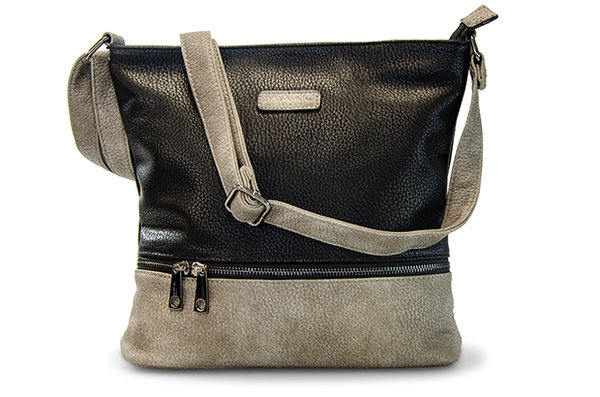Handtasche Nizza Synthetics black