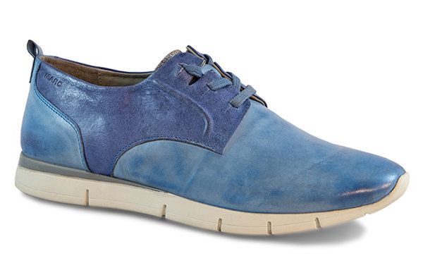 Luca Cow Suede-Nappa blue