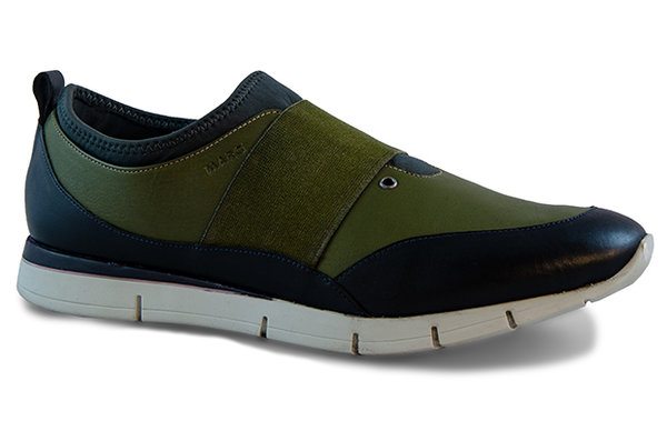 Luca Calf Leather olive-blue