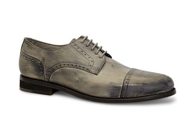 Nevio Cow Crust grey